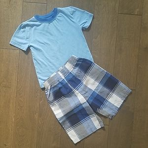 Boy 3T/4T top and short 2pc set